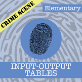 CSI: Elementary -- Unit 8 -- Input-Output Tables
