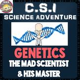 CSI Genetics Science Activity: DNA, Punnett Squares, Meiosis, Cells. Genetic Fun