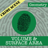 CSI: Geometry -- Volume & Surface Area -- Distance Learning Compatible