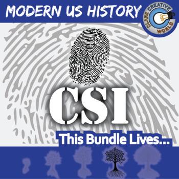 CSI: MODERN U.S. HISTORY CURRICULUM BUNDLE - Fake News Activities