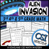 CSI: Math Murder Mystery - Alien Invasion