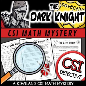 CSI: Math Murder Mystery - Dark Knight Grade 4