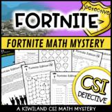 CSI Math Murder Mystery - Fortnite Edition