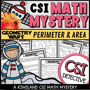 CSI: Math Murder Mystery - Geometry Wars - Perimeter and Area