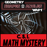CSI Math Murder Mystery - HELP! Geometry Wars - Classifying Shapes and Angles