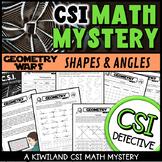 CSI Math Murder Mystery - HELP! Geometry Wars - Classifyin
