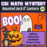 CSI Math Murder Mystery - HELP! Haunted Halloween