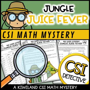 CSI: Math Murder Mystery - Jungle Juice Fever