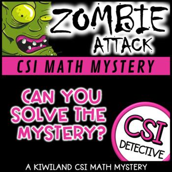 CSI: Math Murder Mystery - Zombie Attack