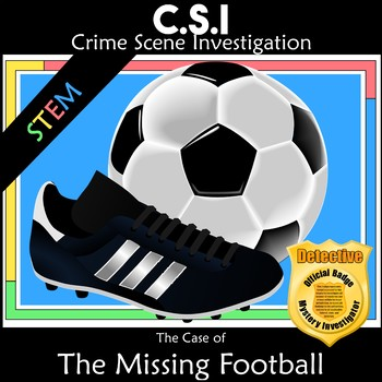CSI Math Mystery - The Missing FIFA Football Cup 2018 Soccer