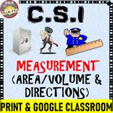 CSI Measurement Activity : Area, Volume, Cardinal Directio