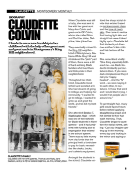 CSI: Montgomery Bus Boycott - Claudette Colvin & Civil Rights Movement (w/eBook)