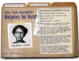 CSI: Montgomery Bus Boycott - Claudette Colvin & Civil Rights Movement (w/eBook)