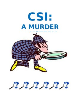 CSI Murder Mystery - decimal word problems with multiple steps