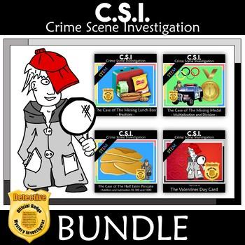 CSI: Mystery Math Bundle