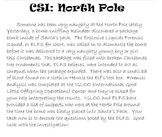 CSI: North Pole; A Forensic Science Christmas Crime Scene