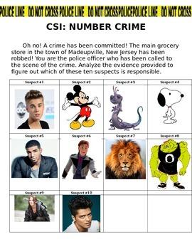 CSI Number Crime