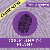 CSI: Pre-Algebra -- Unit 8 - The Coordinate Plane