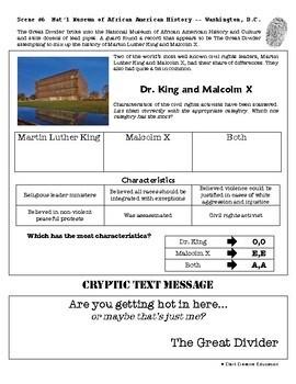 CSI: U.S. History - Civil Rights Movement - Identifying Fake News Activity