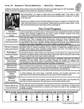 CSI: U.S. History - The Great Depression - Fake News Activity