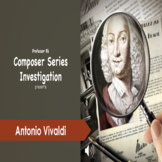 CSI - Who is Antonio Vivaldi Powerpoint/Activity Sheet Bundle