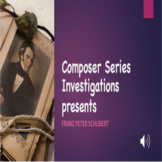 CSI - Who is Franz Schubert Powerpoint/Activity Sheet Bundle