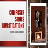 CSI - Who is Johann Sebastian Bach Powerpoint/Activity She