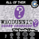 Whodunnit? -- ALL OF THEM -- Grades (9-12) - 90+ Activities - Math Curriculum