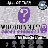 Whodunnit? -- ALL OF THEM -- Grades (3-8) - 110+ Activities - Math Curriculum