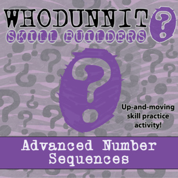 Whodunnit? -- Advanced Number Sequences - Class Activity