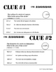Whodunnit? -- Area of Circles  - Skill Building Class Activity