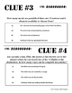 CSI: Whodunnit? -- Combinations - Skill Building Class Activity