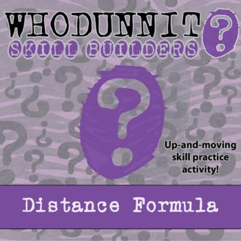 CSI: Whodunnit? -- Distance Formula - Skill Building Class