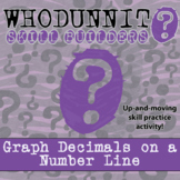 Whodunnit? -- Graph Decimals on a Number Line - Class Activity