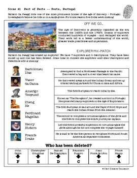 CSI: World History - Age of Discovery - Identifying Fake News Review Activity
