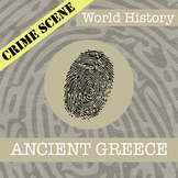CSI: World History - Ancient Greece
