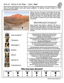 CSI: World History - Ancient Egypt - Identifying Fake News Review Activity