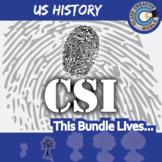 CSI: U.S. HISTORY CURRICULUM BUNDLE - Identifying Fake News Review Activities