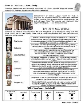 CSI: World History - Roman Empire - Identifying Fake News Review Activity