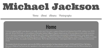 CSS - Project - Create a Website About Your Favorite Musician - Includes Videos