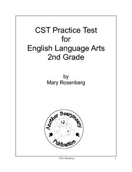 CST ELA Test Packet #2