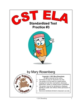 CST ELA Test Practice #3