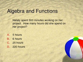 Review - Algebra and Functions