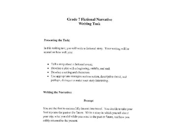 CST Writing Test Practice - 3 Genre Writing Prompts