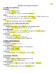 Writing Test Prep - 4 Genre Outlines