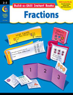 Build-a-Skill Instant Books: Fractions (Grades 2-3)