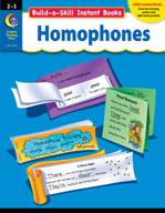 Build-a-Skill Instant Books: Homophones (Grades 2-3)