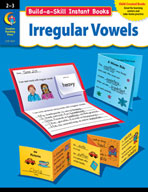 Build-a-Skill Instant Books: Irregular Vowels (Grades 2-3)