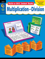 Build-a-Skill Instant Books: Multiplication and Division (Grades 2-3)