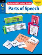 Build-a-Skill Instant Books: Parts of Speech (Grades 2-3)